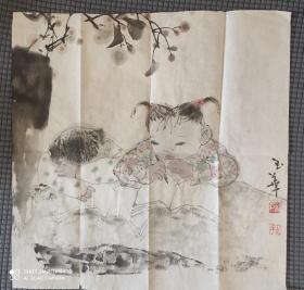 童趣     画家徐玉华