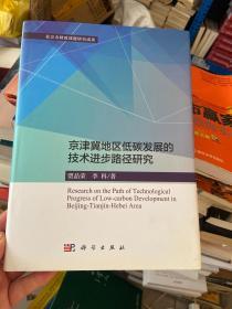 京津冀地区低碳发展的技术进步路径研究
