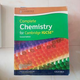 Complete Chemistry for Cambridge IGCSE 含光盘 正版原版(稍微有点画线)