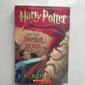 英文原版  Harry Potter And The Chamber Of Secrets