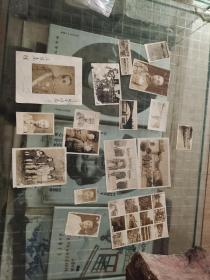 江西四川省主席,国民革命军30军总司令王陵基签字老照片,和黄埔系同僚老照片一起17张