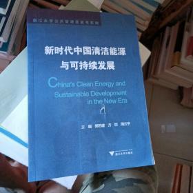 新时代中国清洁能源与可持续发展/浙江大学公共管理蓝皮书系列