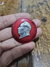 浙江省军区——永远忠于毛主席——毛泽东像章