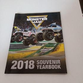 2018·MONSTERJAM·SOUVENIR YEARBOOK
