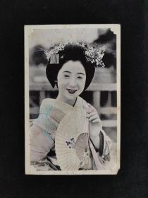 伊豆的舞女 日本老明信片