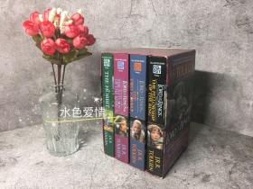 绝版古董书魔戒指环王霍比特人合集电影封面版平装版紫盒系列2001版the lord of the rings hobbit box set