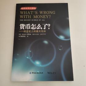 货币怎么了经济史上的最大泡沫/成方三十二译丛