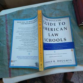 THE PENGUIN GUIDE TO AMERICAN LAW SCHOOLS  外文版  请看图  实物拍图
