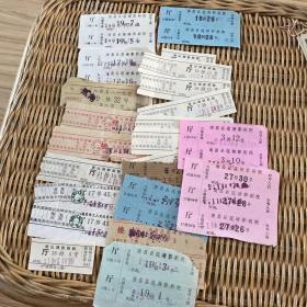 老电影票一堆 三十来张