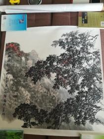 郞祎画家 写生山水国画