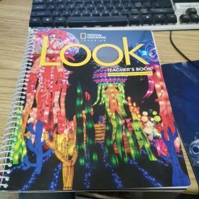 【外文原版】Look 2 Teacher's Book(带两张光盘和一本小册子)