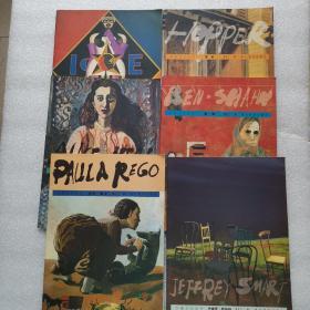 外国艺术丛书:霍珀.林德纳.夏班.阿丽丝 尼尔.杰弗里.斯马特.保拉.雷戈(6本合售)