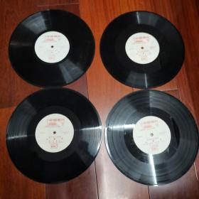 黑胶唱片:革命现代样板戏---沙家浜(四张八面全)