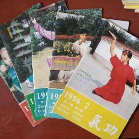 《气功》1996年 2.3.6.8.10 五册合售 浙江中医杂志社 私藏 书品如图