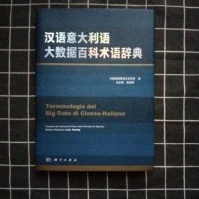 汉语意大利语大数据百科术语辞典(正版现货)库存书
