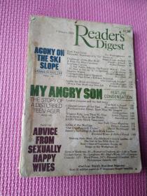 读者文摘1984年2月英文原版。