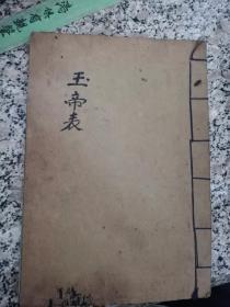 道教符咒手抄本《玉帝表》秘法,玄学看日子手抄本八卦易经风水地理手抄本符咒