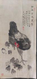 青岛名家,杨钟鸾,1917-1995,字叔平,作品少见,书画俱佳大师级的水平