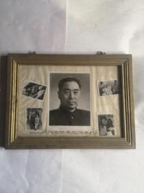 老镜框 内有五张照片