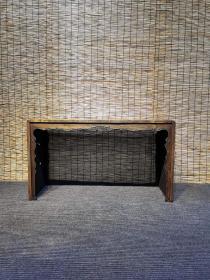 榉木琴桌/茶桌,尺寸140-50-80,选用百年老榉木为原材料,纯榫卯结构制作工艺,做工精细考究~简洁大气稳重上档次,雕刻细腻寓意丰富
