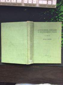 A HANDBOOK OF ENGLISH IN ENGINEERING USAGE工程实用英语手册