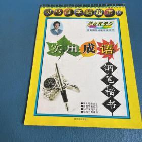 司马彦字帖超市 钢笔楷书 实用成语