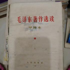 《毛泽东著作选读》甲种本上。