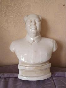 文革毛主席像(瓷器)