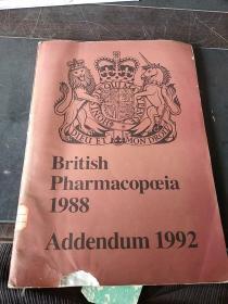 British pharmacopoeia 1988 英国药典