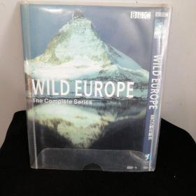 WILD EUROPE欧洲探索 完整版BBC(DVD:1碟装)