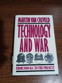 Technology and War: From 2000 B.C. to the Present(英文原版)技术和战争