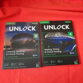 Unlock 4 Listening, Speaking & Critical Thinking +Reading, Writing & Critical Thinking