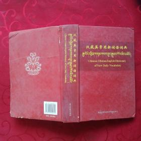 汉藏英常用新词语词典