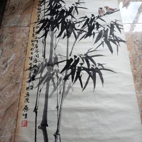 刘原生花鸟画