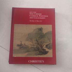 CHRISTIE'S 佳士得 2011年5月31日中国古代书画拍卖图录   X4