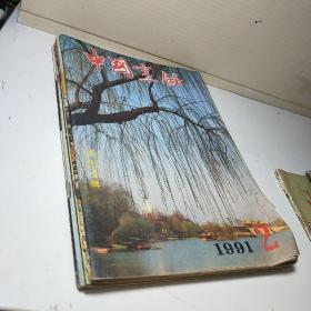 中国烹饪1991年(2 5 7 9 11 12) 6本合售