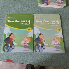AL07  爱乐奇新概念  workbook1B、ClassBook1B(2册合售,没拆封的)