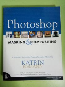 英文原版 Photoshop MASKING & COMPOSITING