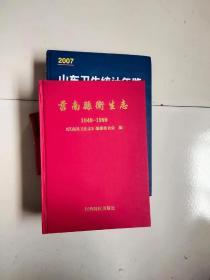 莒南县卫生志1840-1999-近全品-280元