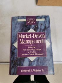 Market-Driven Management【满30包邮】