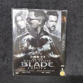 刀锋战士3 DVD 光盘 碟片未拆封 外国电影 (个人收藏品)