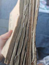 清末民国写本六册!尺寸不一  大小参图 有批校本,有讲文房纸墨等内容!