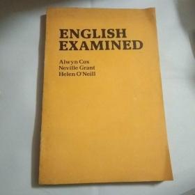 ENGLISH  EXAMINED测试英语教本