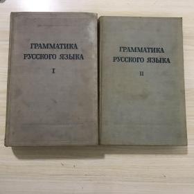 俄语语法1/2卷,俄文原版,余振老师收藏,内容全新
