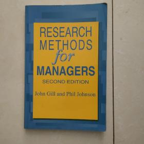 research methods for managers (管理者的研究方法)英文原版