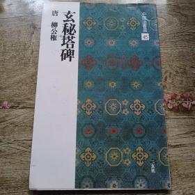 中国法书选45-玄秘塔碑