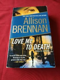 love me to death allison brennan