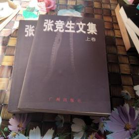 张竞生文集 (上 下 全两 册 合售 正版 无笔迹