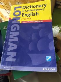 Longman Dictionary of Contemporary English 朗文英英词典字典 英文原版朗文当代高阶英语词典辞典 第6版 库存书