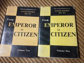 我的前半生 从皇帝到公民 (英文版)上下